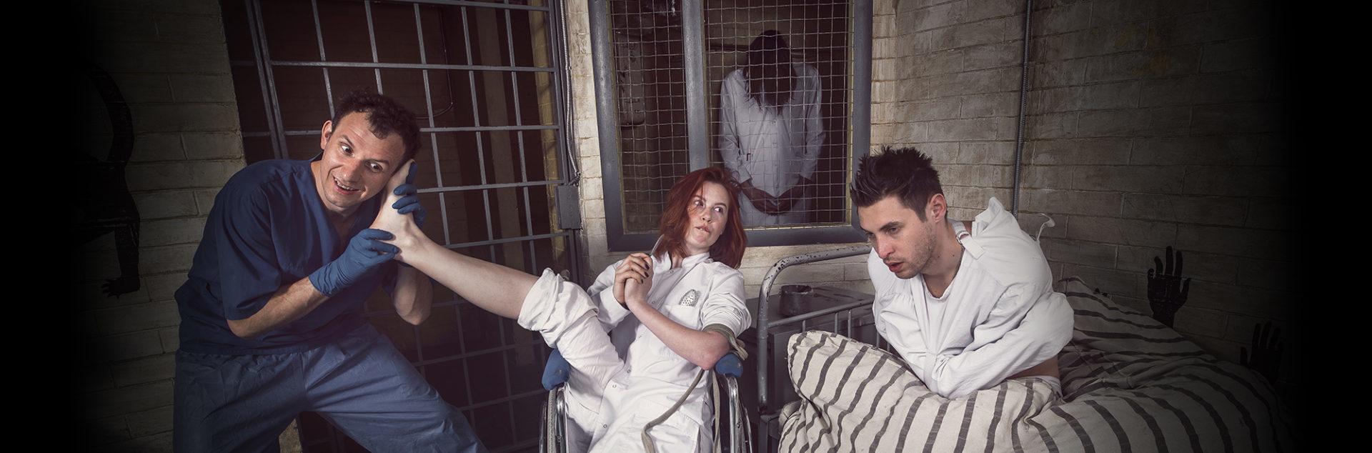 Квест комната Шоковая терапия с актрисой от KADRooM Киев