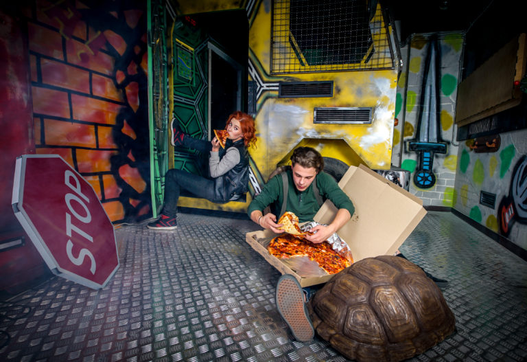 Escape room Ninja Turtles photo 3