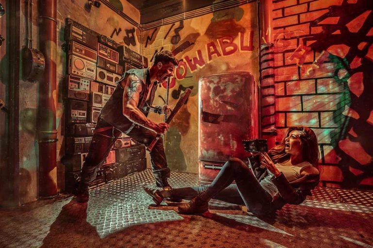Квест комната по фильму Черепашки Ниндзя в Kadroom фото 2