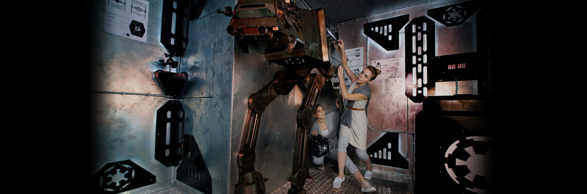 Квест комната Звездные войны - АТ-АТ фото