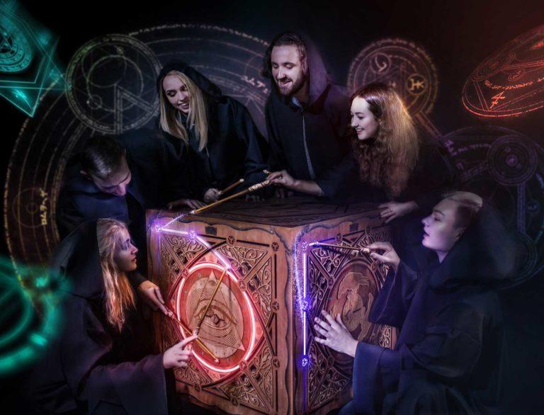 Магический квест куб