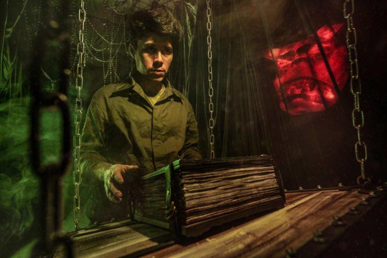 Квест комната Охотники за приведениями в Киеве Kadroom